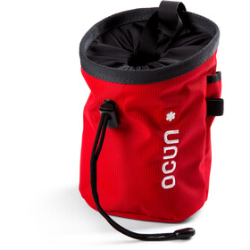 Ocun Push + Belt Chalk Bag red twist